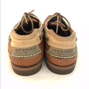 Sperry Shoes - SPERRY Top-Sider Leather Boat Shoes 10M Two Tone